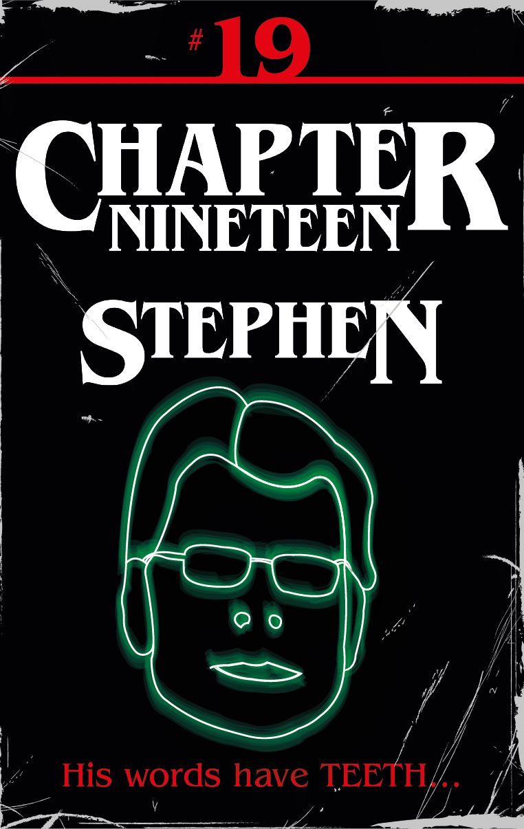 Chapter Nineteen Stephen Front Cover