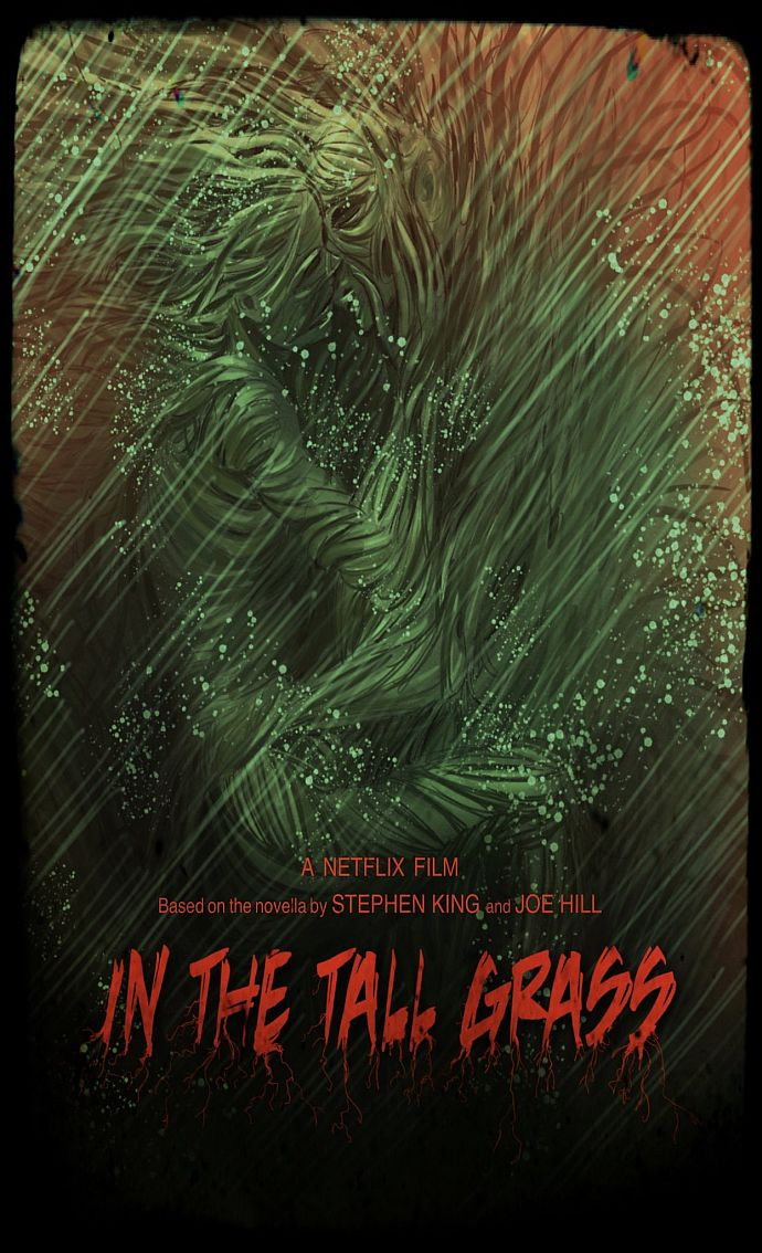 Inthetallgrass Film Poster Alternatif