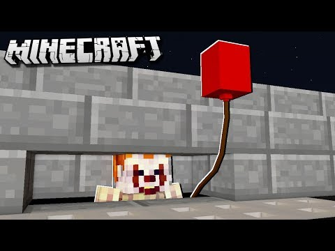 Pennywise Grippesou Stephenking Minecraft
