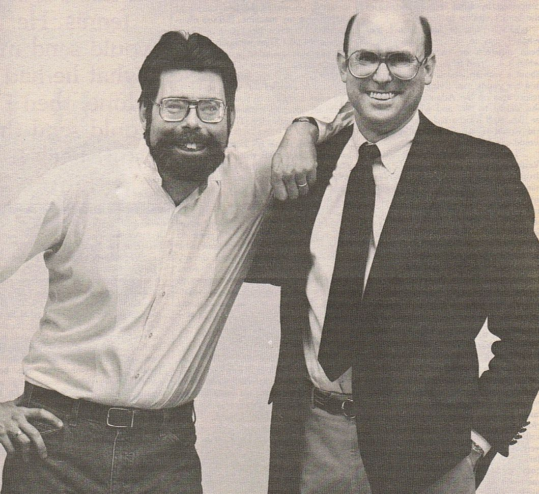 Photo De Stephen King Et Peter Straub