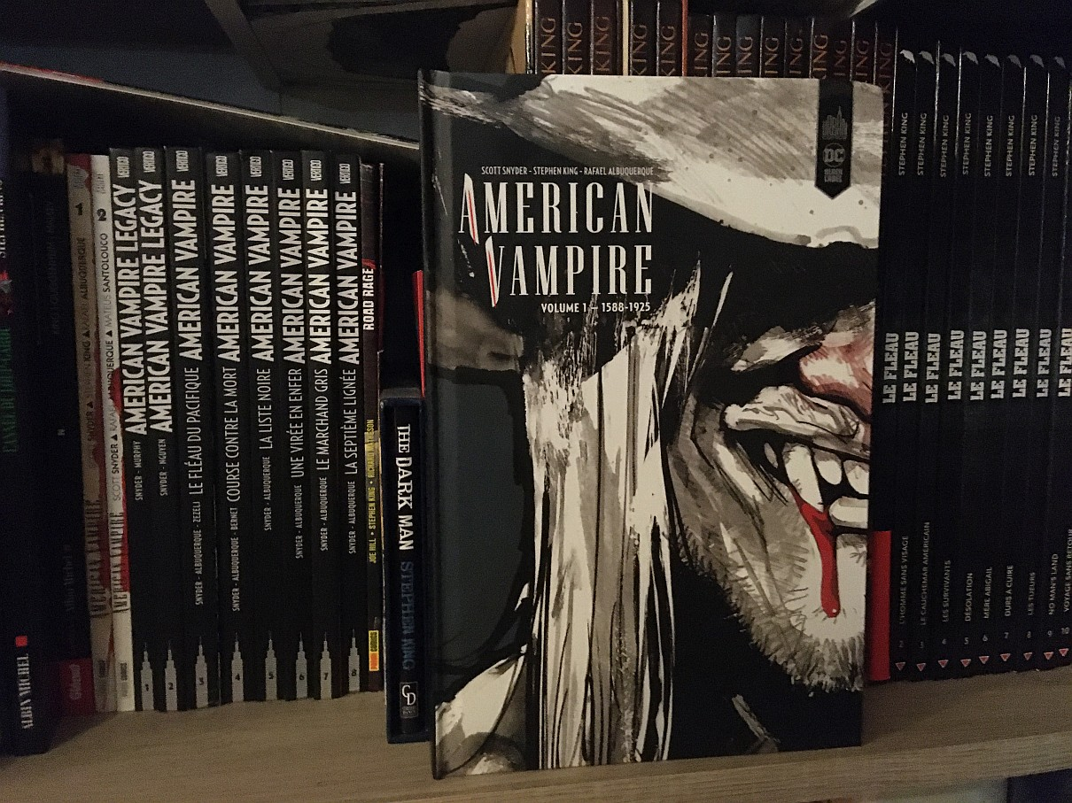 American Vampire Stephenking Reedition Urbancomics 0001