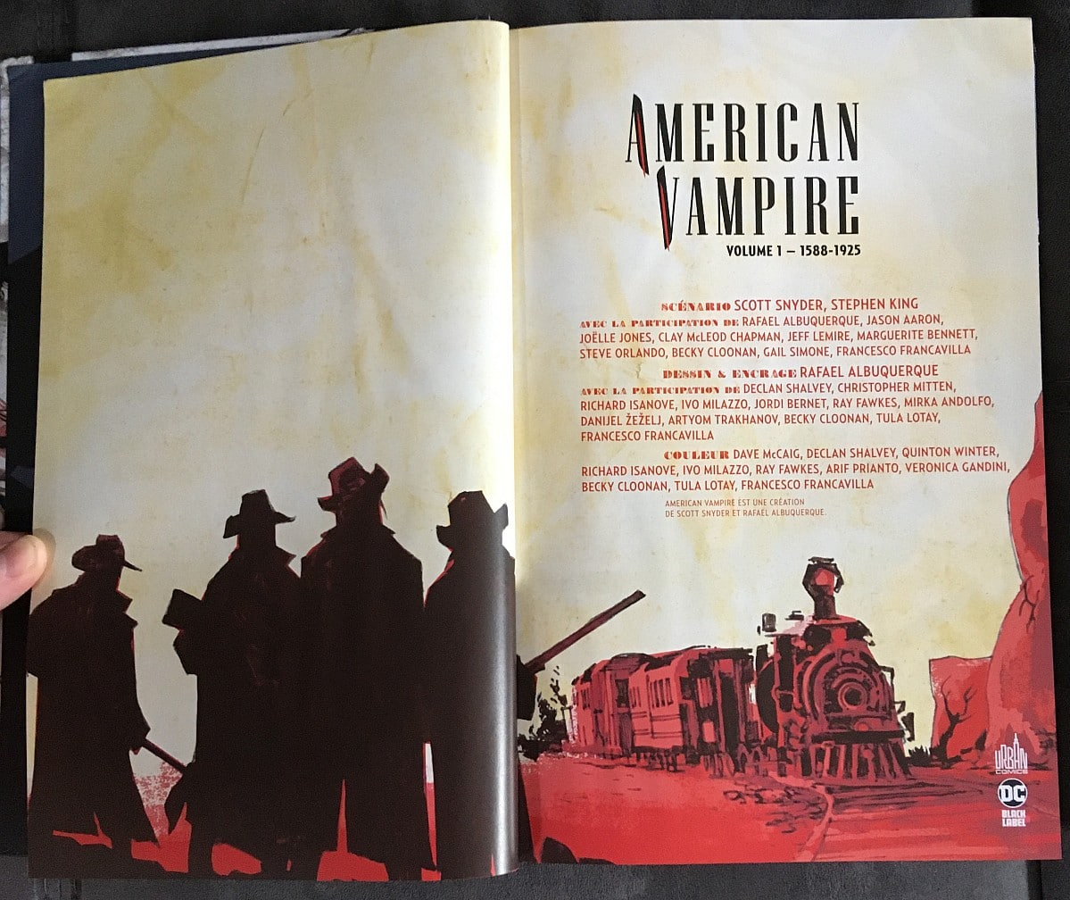 American Vampire Stephenking Reedition Urbancomics 0002