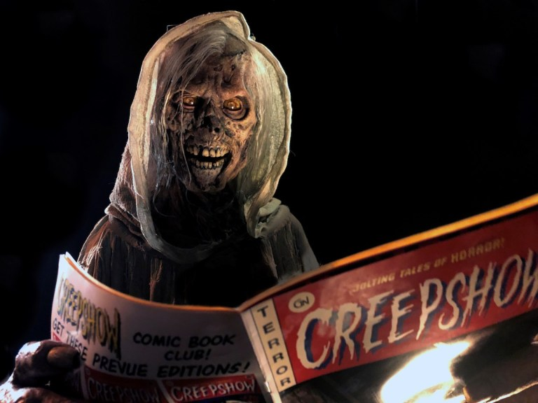 Creepshow Serie Shudder With Comic