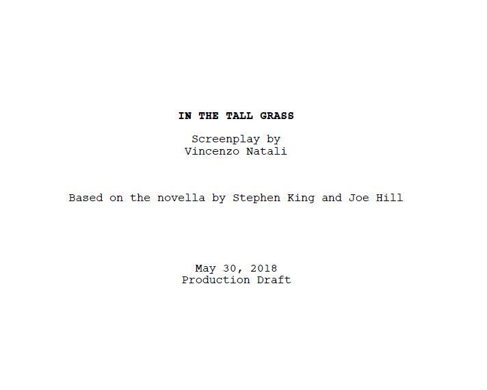 Inthetallgrass Film Netflix Stephen King Scenario