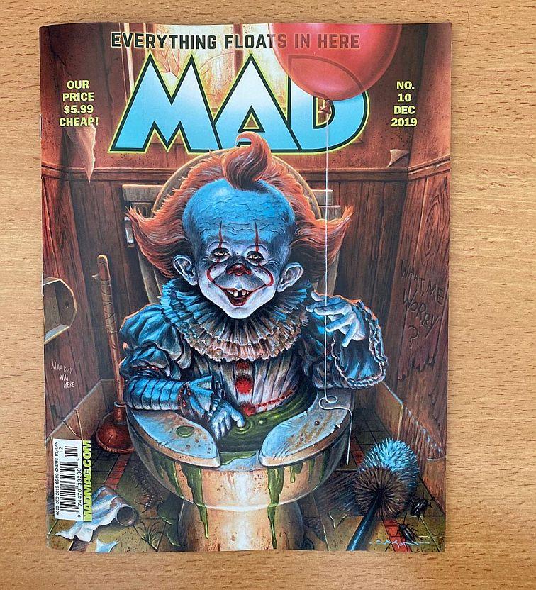 Magazine Mad Parodie Ca 0
