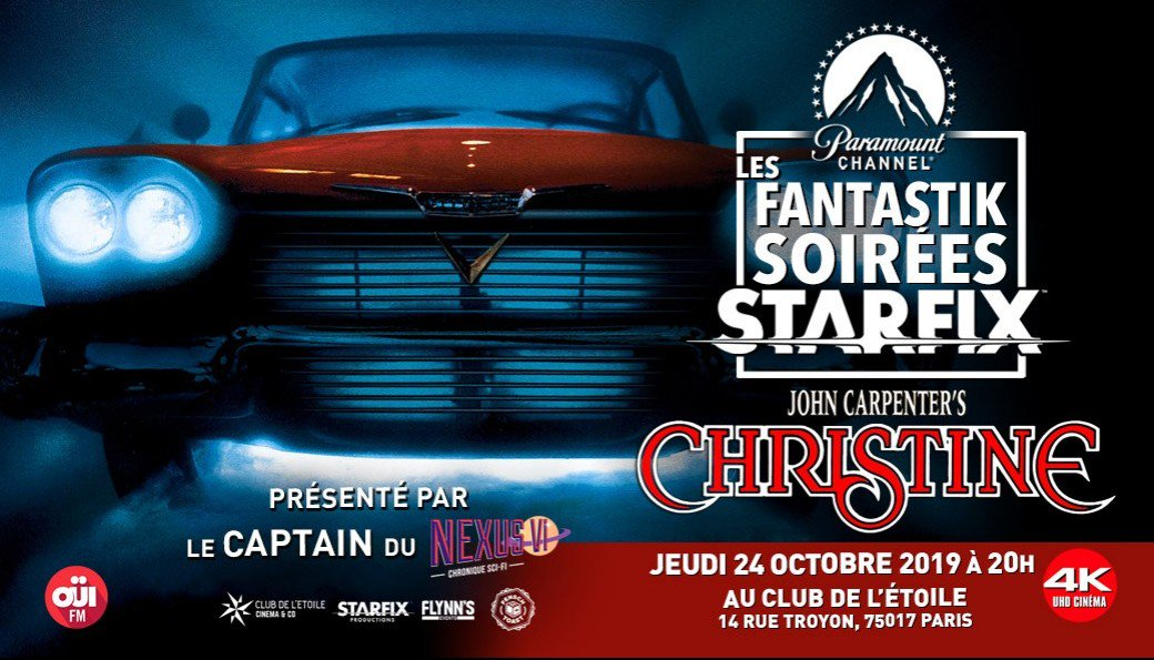 Starfix Paris Paramount Christine Evenement2