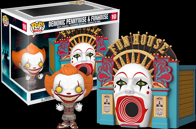 Figurine Funko Pop Town 10 Pennywise Funhouse