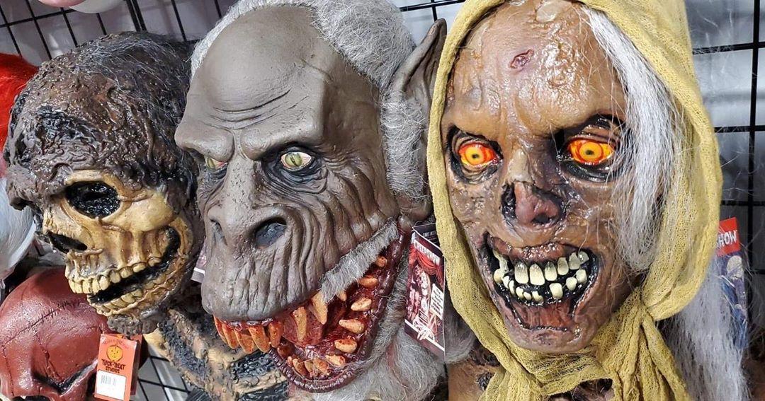 Creepshow Masks Tricksortreat