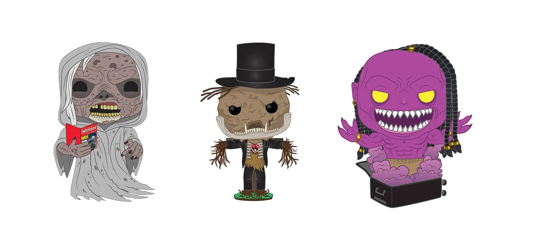 Funko Creepshow Serie London Toy Fair 2020 Header