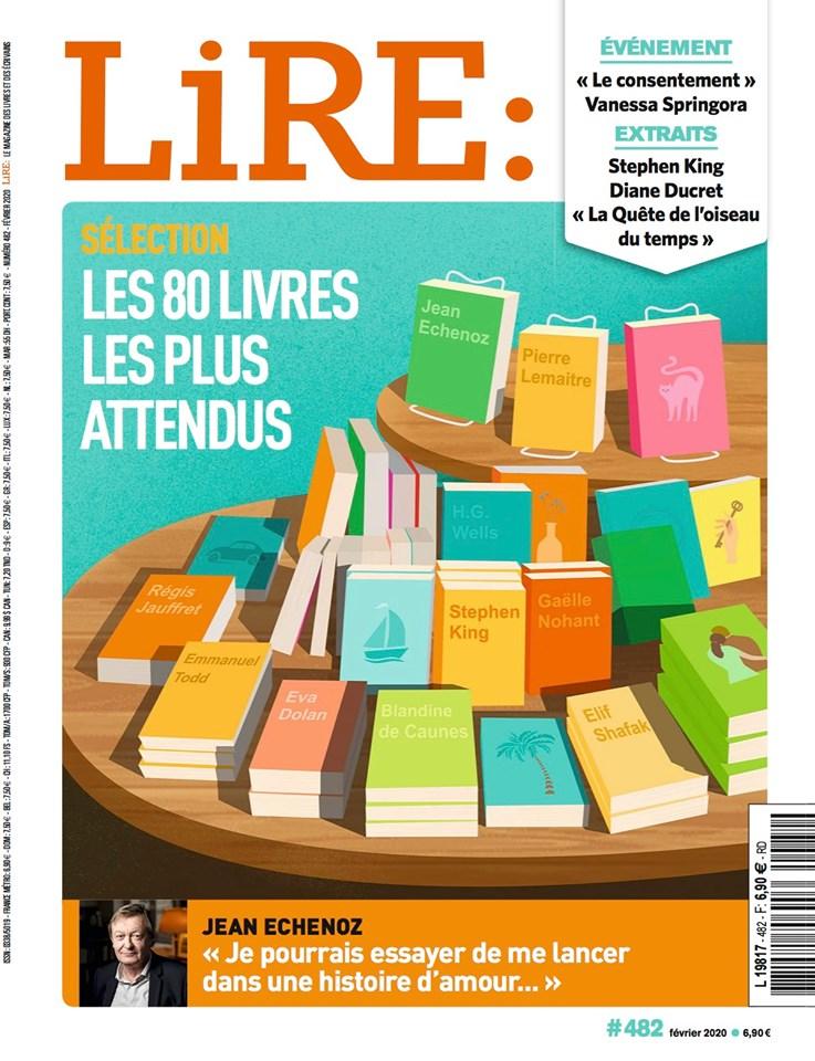 Magazine Lire Fev2020 Couverture