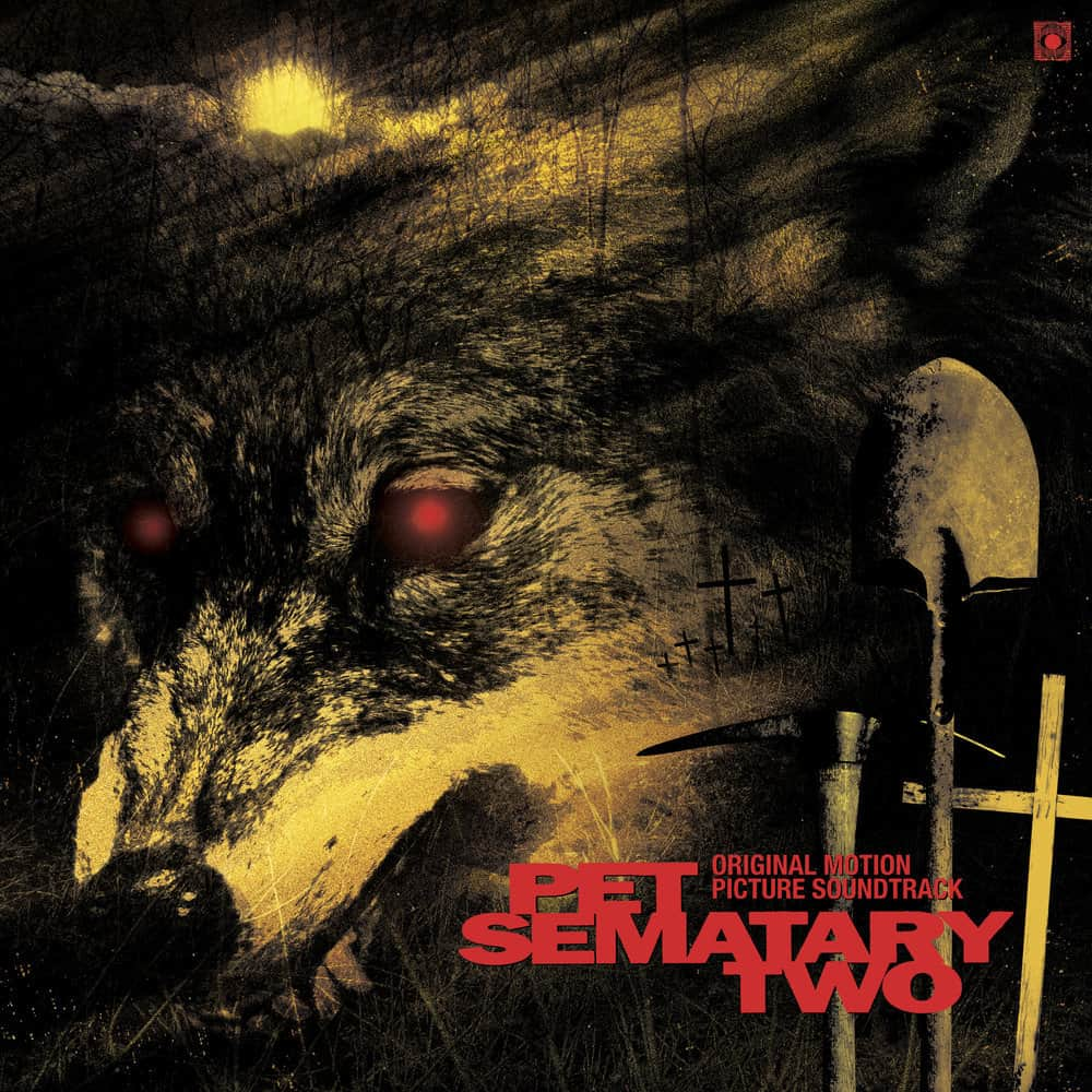 Pet Sematary 2 Simetierre2 Soundtrack Vynil Cassette