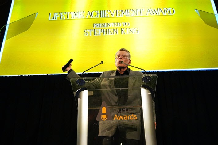 Stephenking Lifetimeawards Audie 2020