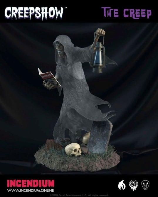 Creepshow Statuette Incendium 3