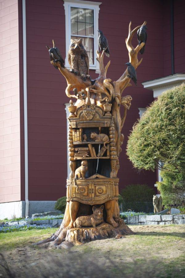 Sculpture Maison Stephenking