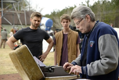 Stephenking Ecrivant Tournage Underthedome