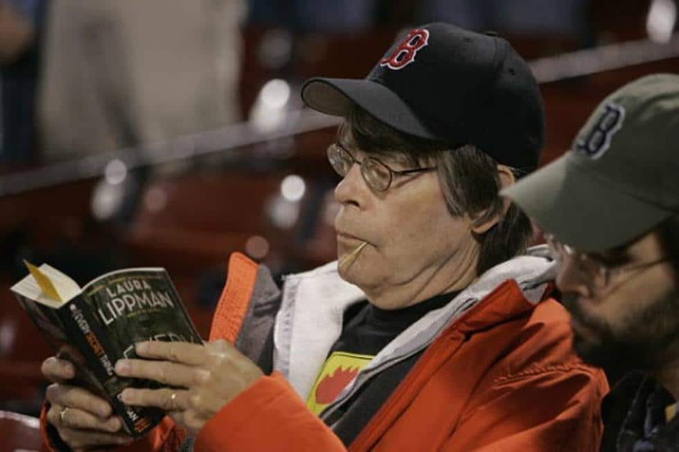 Stephenking Reading Baseball