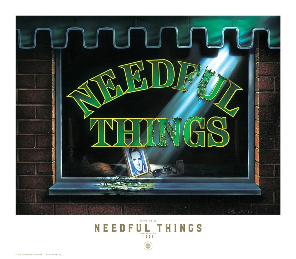 Suntup Couverture Needfulthings Poster Stephenking