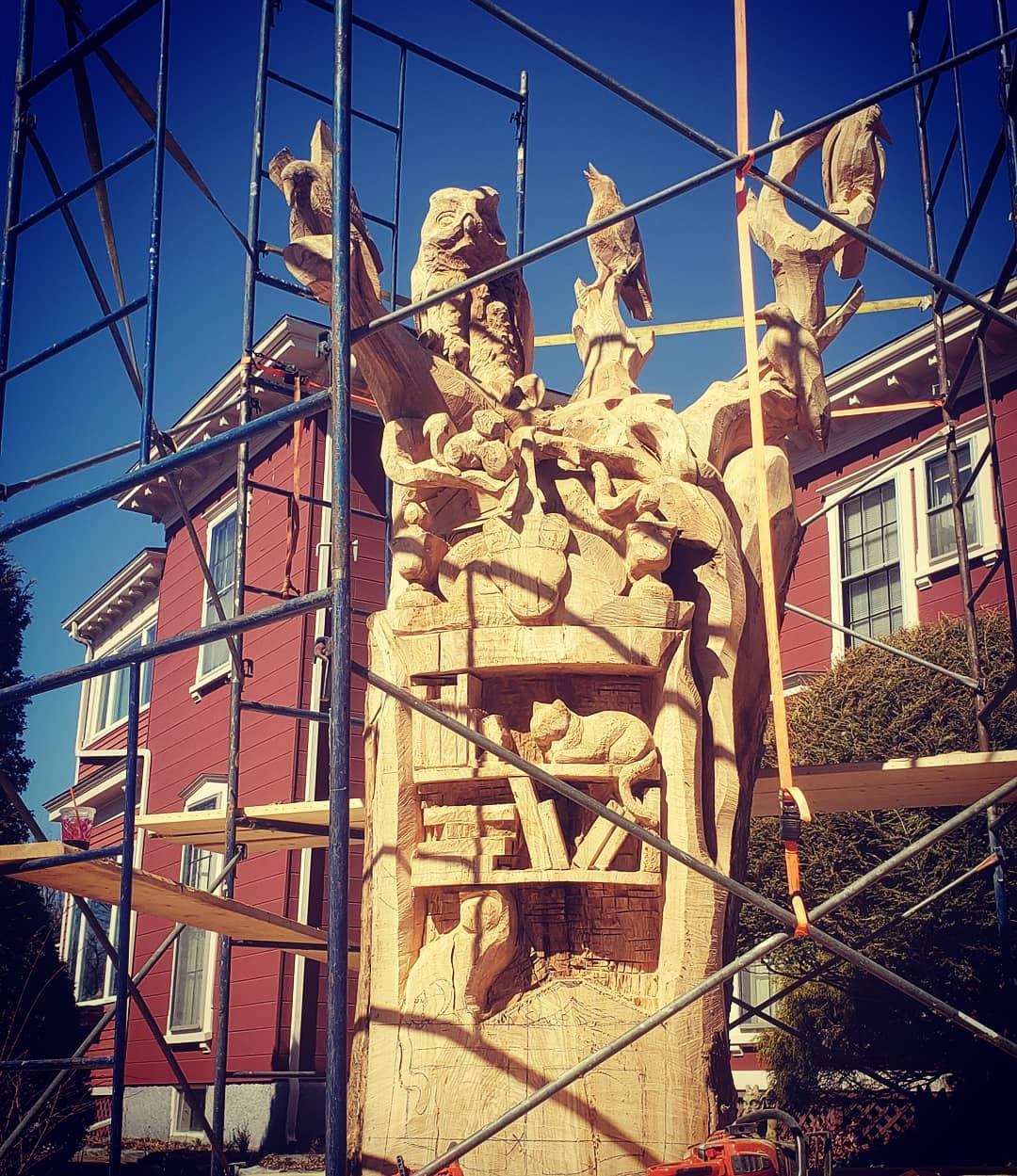 Tabithaking Sculpture Maison2