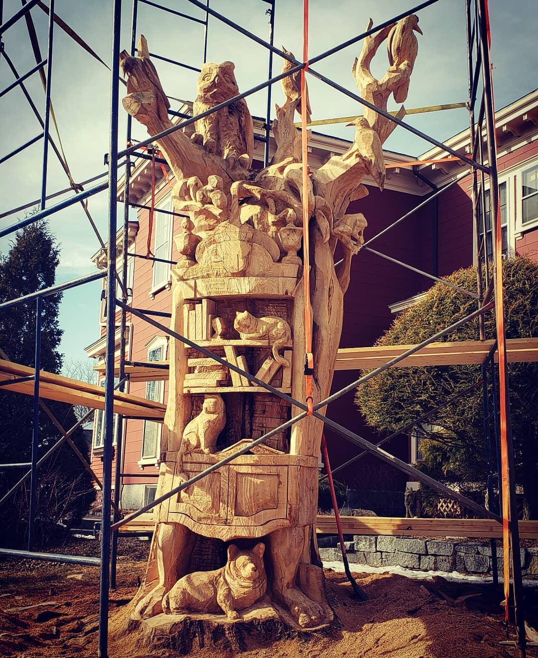 Tabithaking Sculpture Maison3