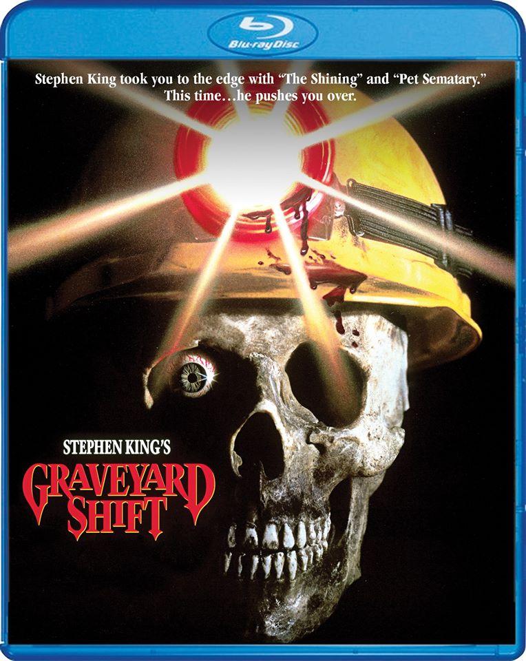 Scream Factory Graveyard Shift Film Bluray