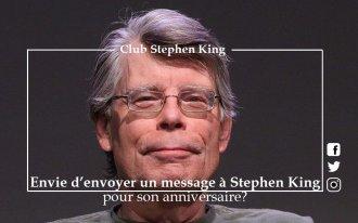 Envoyez un message à Stephen King pour son anniversaire!