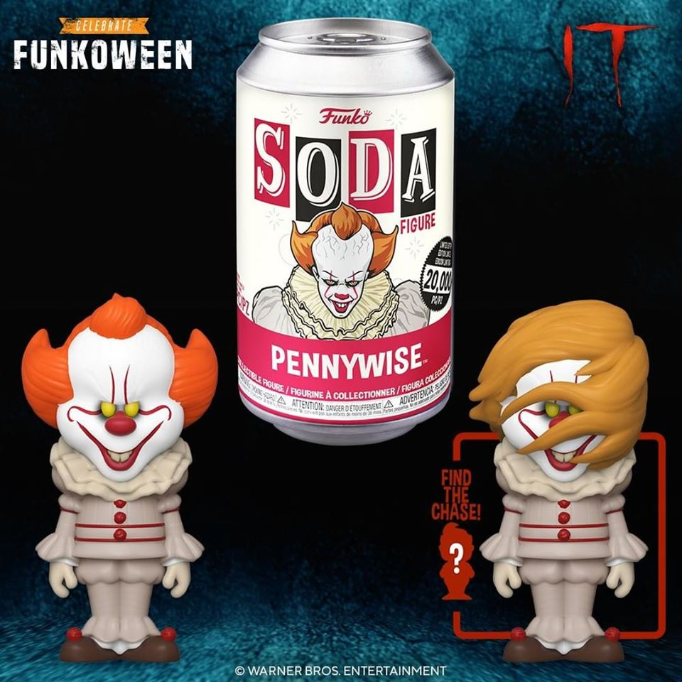 Funko Stephenking Pennywise Soda