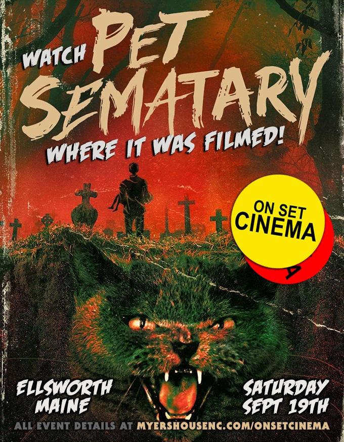 On Set Cinema Stephenking Simetierre 1989 2