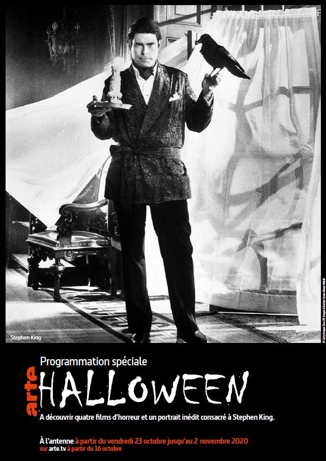 Arte Programmation Halloween Stephenking Documentaire Mal Necessaire