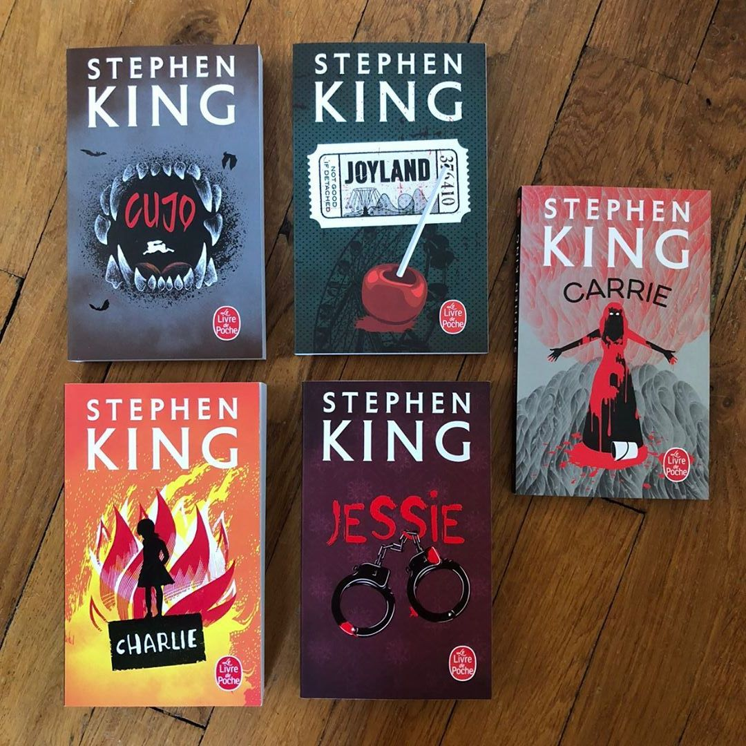 Couvertures Stephenking Lelivredepoche