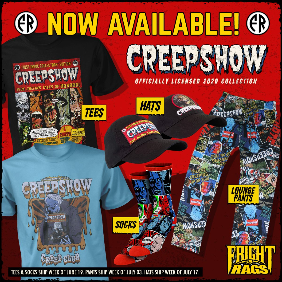 Creepshow Frightrags Collection2020 Square