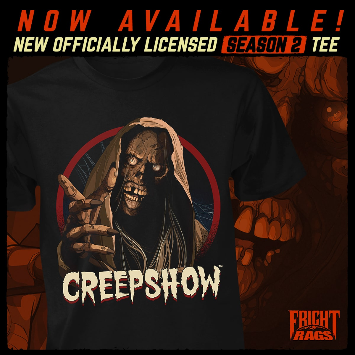 Fright Rights Creepshow Season2 Teeshirt