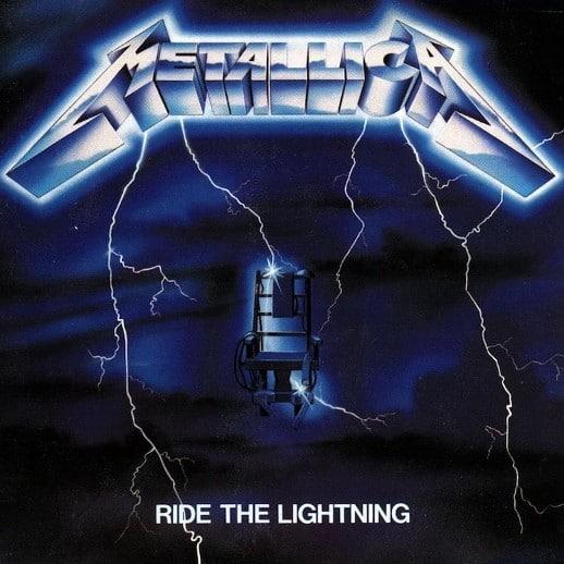 Metallica Ridethelightning