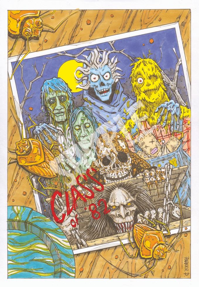 Creepzine Artbook Hommage Creepshow 01