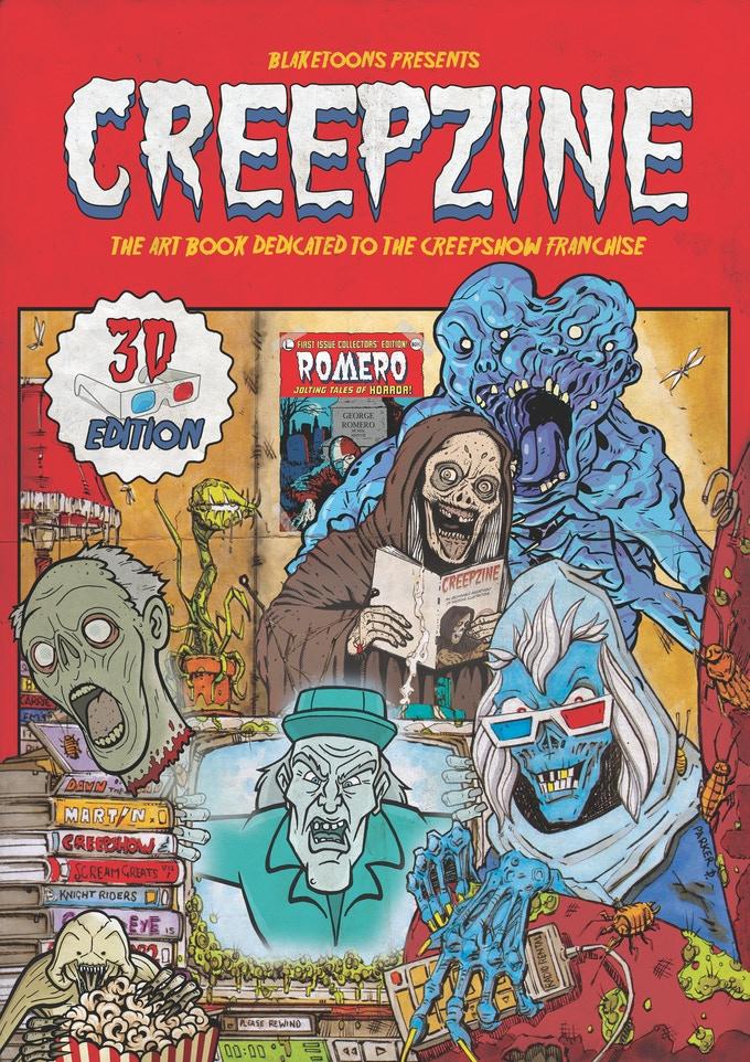 Creepzine Artbook Hommage Creepshow