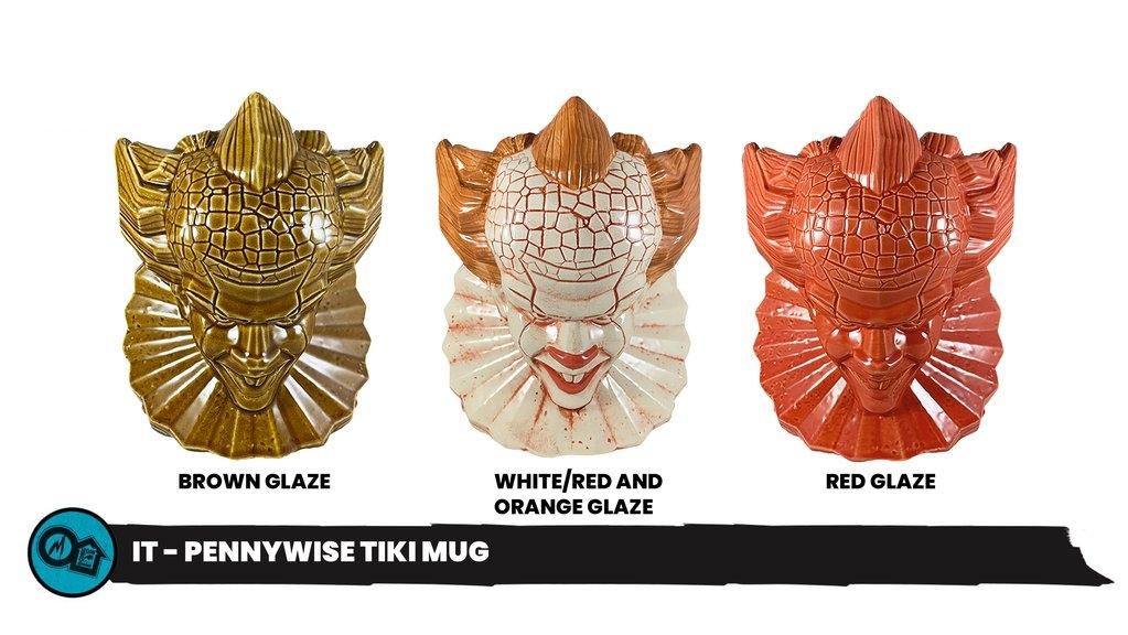 Mondotoyrs Pennywise Tiki Mug Cover2