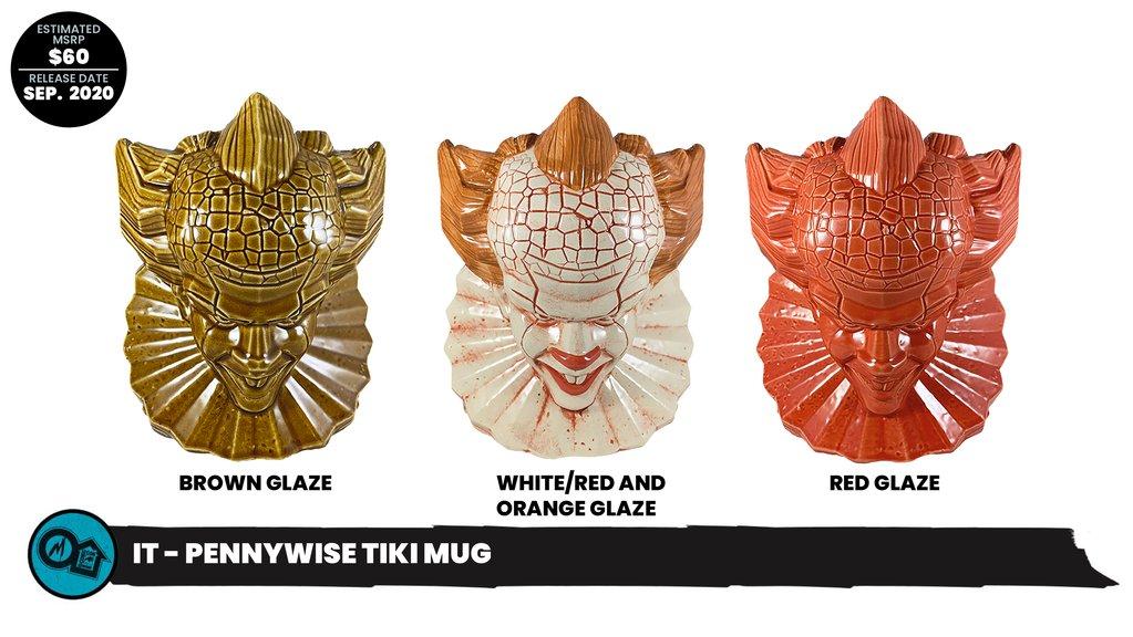 Mondotoyrs Pennywise Tiki Mug