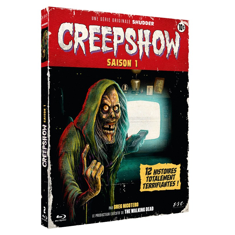 Creepshow Serie1 Saison Escdistribution Bluray