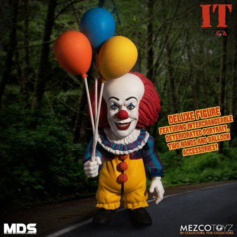 Mezco Grippesou Pennywise Timcurry 1990 Photo 01