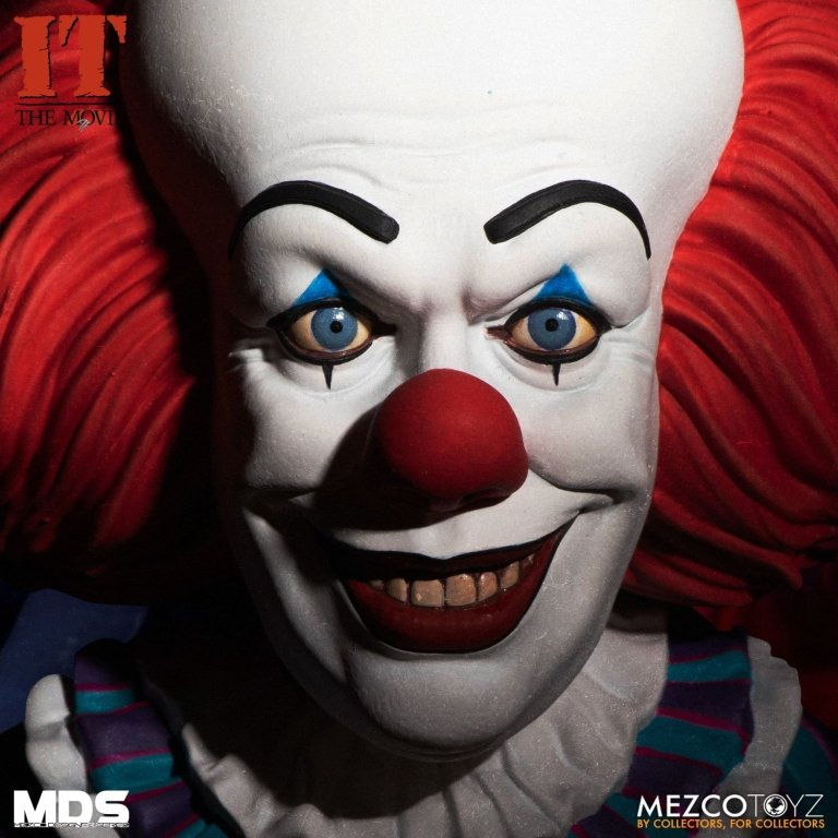 Mezco Grippesou Pennywise Timcurry 1990 Photo 02