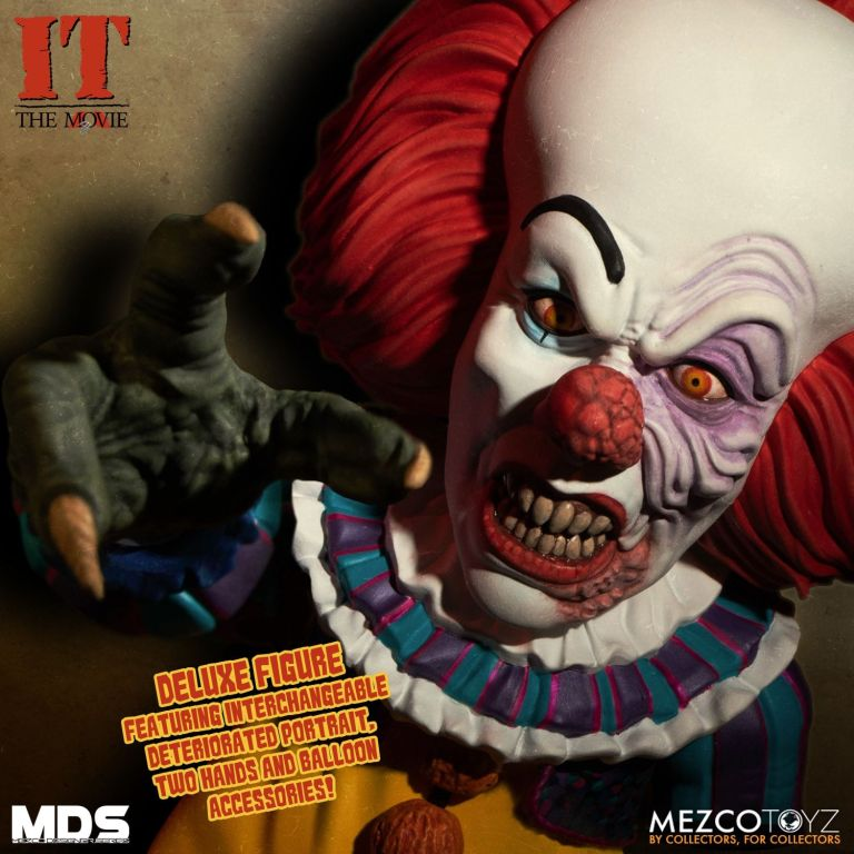 Mezco Grippesou Pennywise Timcurry 1990 Photo 05