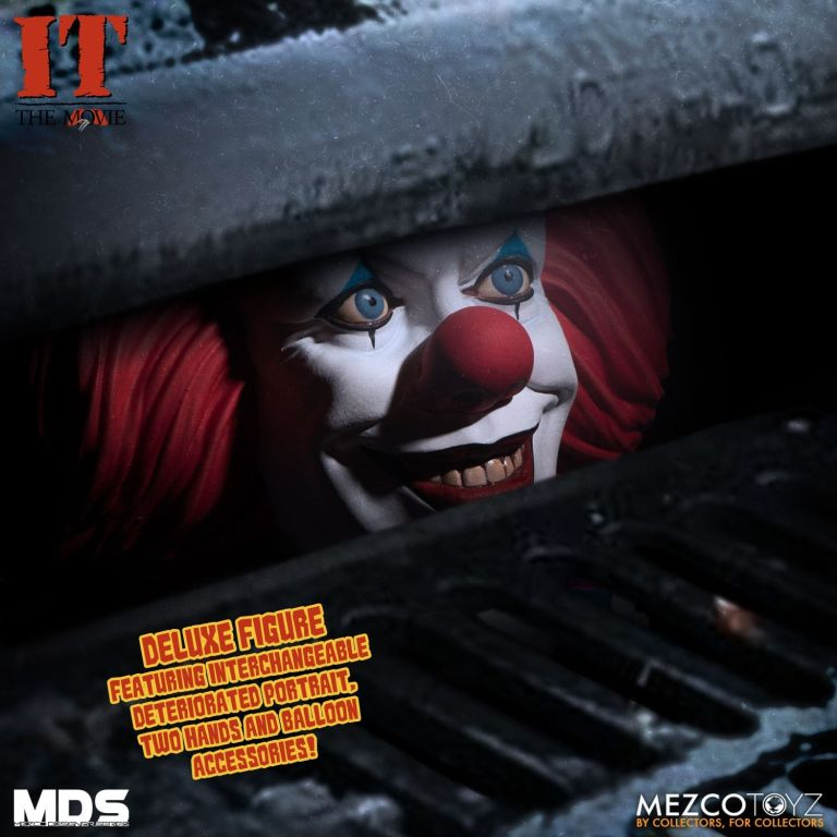 Mezco Grippesou Pennywise Timcurry 1990 Photo 07