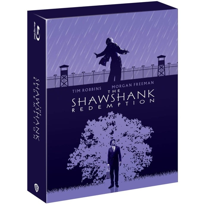 Theshawshankredemption Lesevades .bluray Steelbook Uk Exclusive Zavvi 2