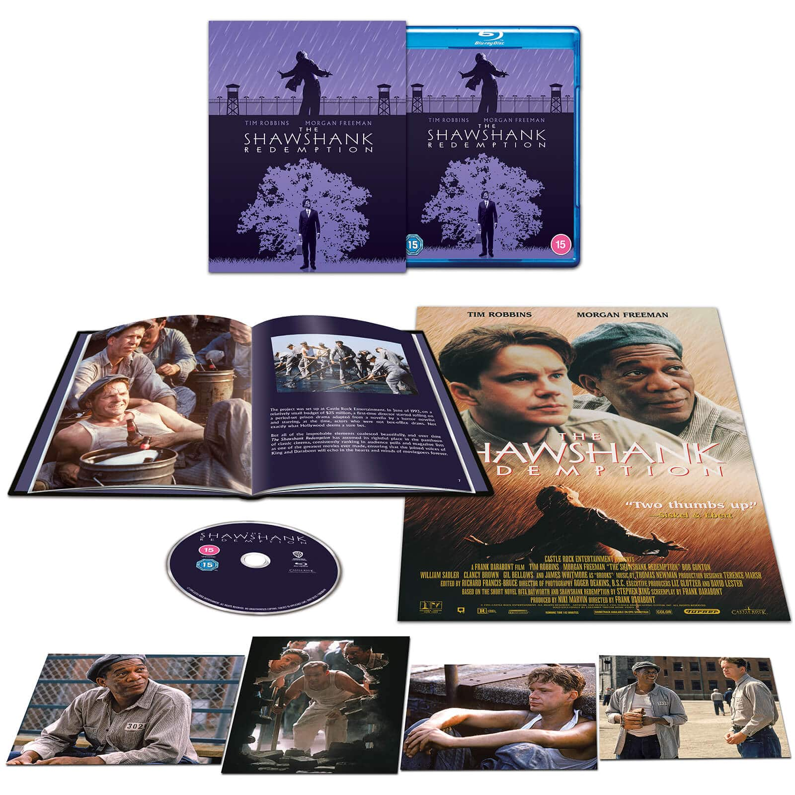 Theshawshankredemption Lesevades .bluray Steelbook Uk Exclusive Zavvi