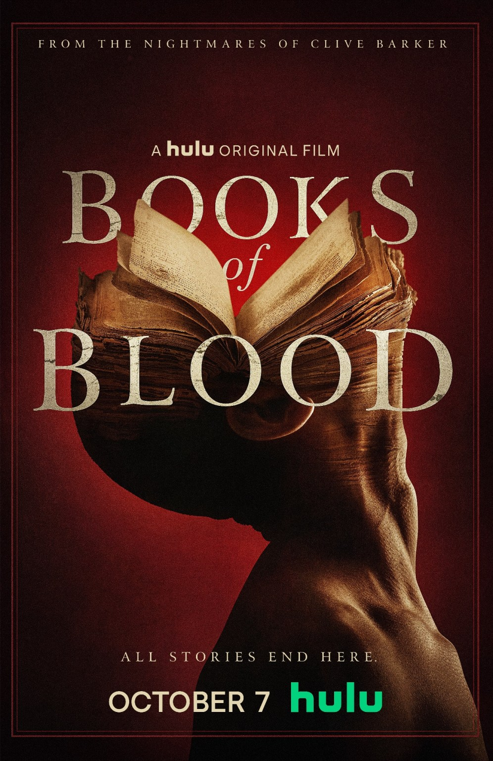 Clive Barker Serie Books Of Blood Livresdesang Hulu 02 Poster