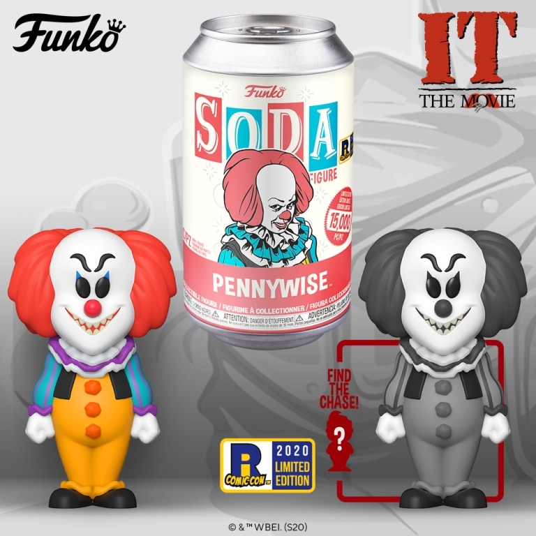 Funko Soda Pennywise1990 Exclusive