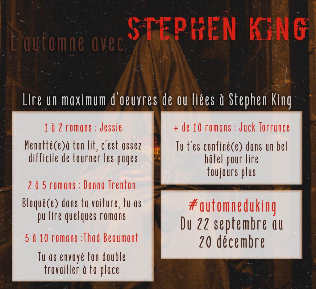 L Automneduking Saison2 Du Challenge Lecture Stephenking