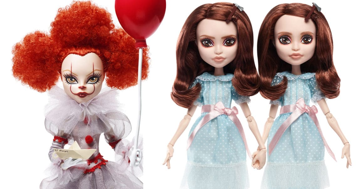 Mattel Stephenking Dolls Monsterhigh Pennywise Twin Grady Cover