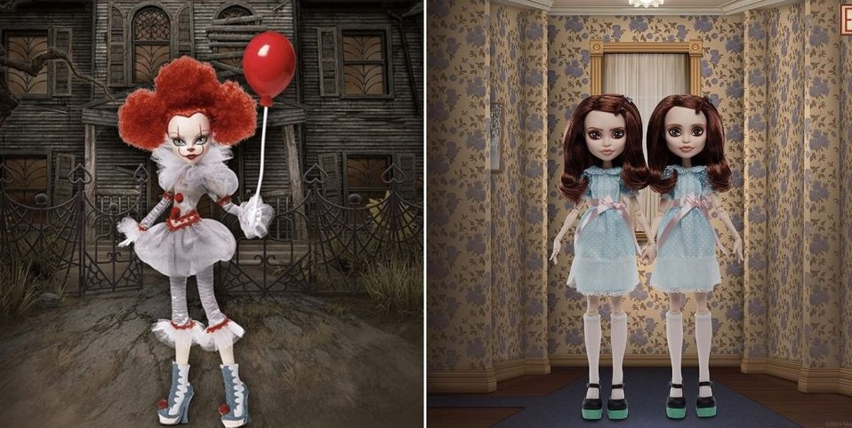 Mattel Stephenking Dolls Monsterhigh Pennywise Twin Grady Cover2
