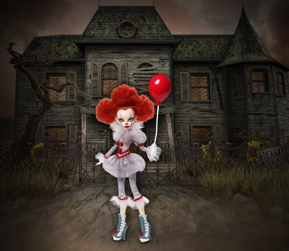 Mattel Stephenking Dolls Pennywise 01