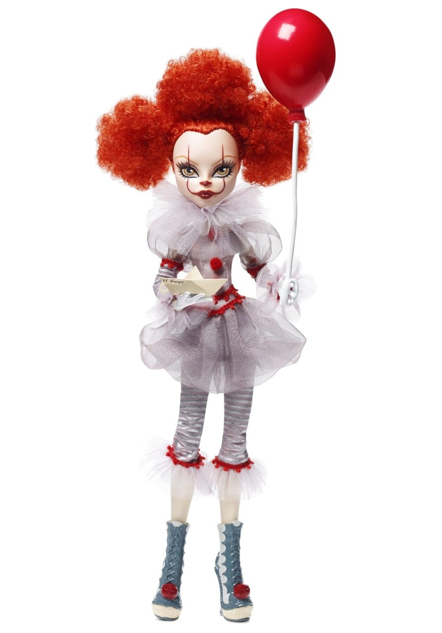Mattel Stephenking Dolls Pennywise 02